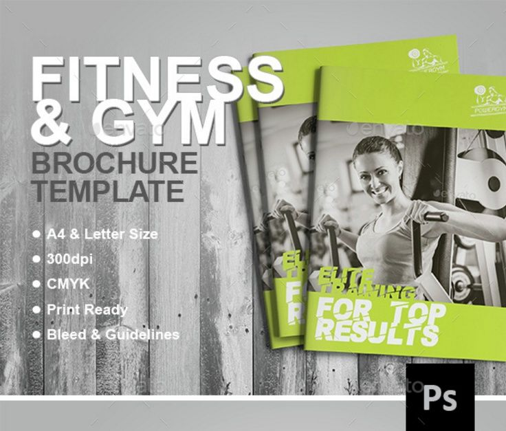 19 best 15+ Fitness Brochure Template Word, InDesign, EPS and PSD - brochures templates word