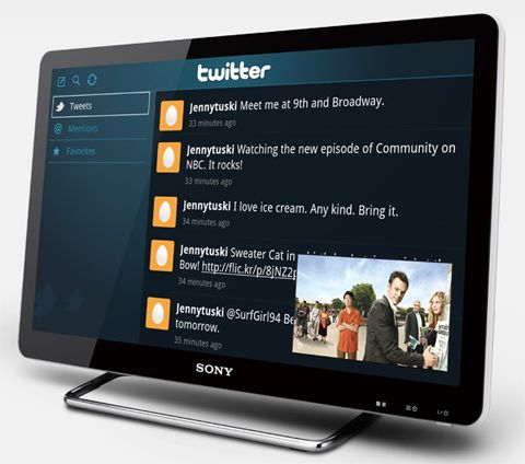#Tapping the Next Big Thing Social TV Trends
