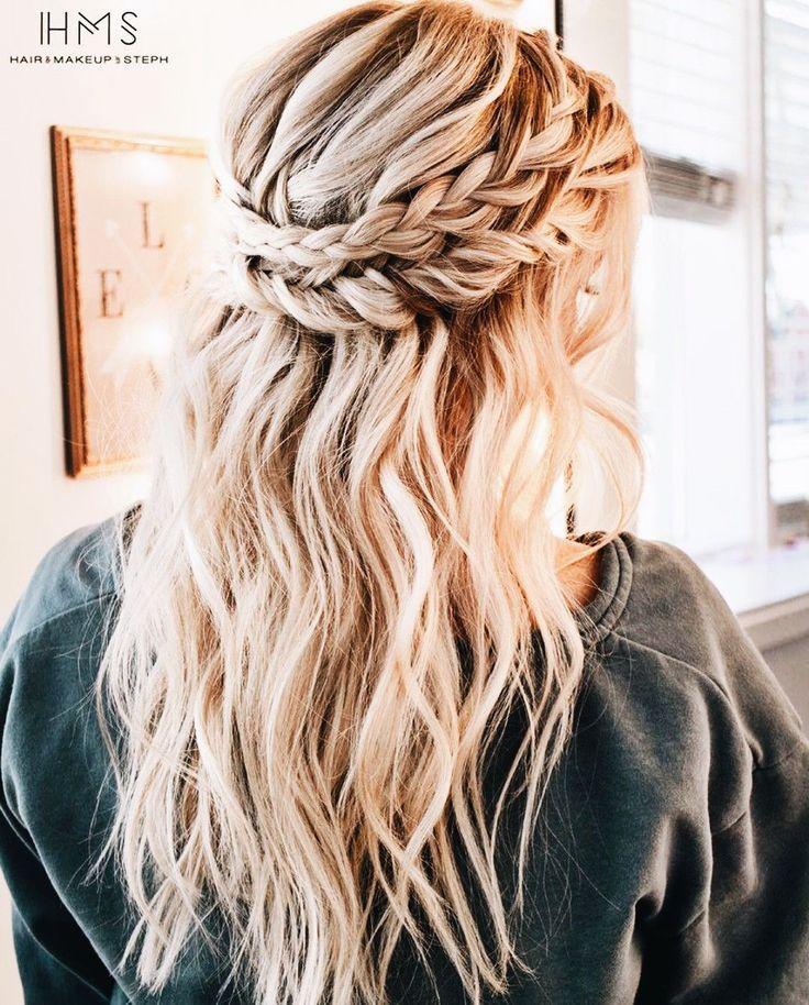 Crown Braid Boho Hair Inspo Wlosy Pinterest Hair Styles Hair