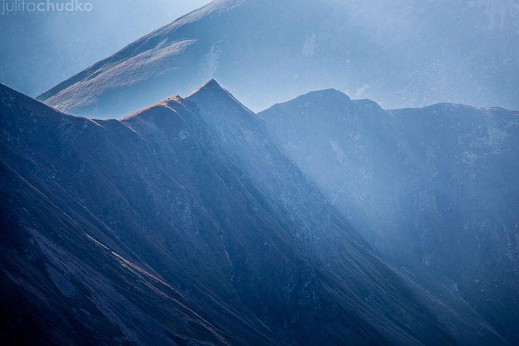 tatry zachodnie w jesiennym świetle