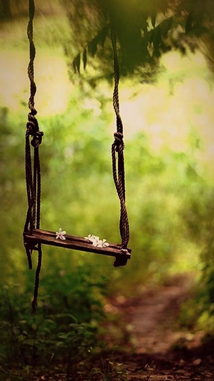 This is such a beautiful little swing