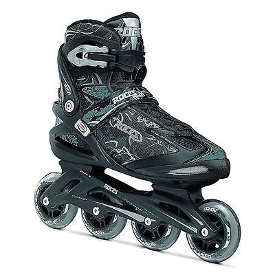 Men 47346: Roces Tattoo Inline Skates 6.0 Black-Silver New -> BUY IT NOW ONLY: $89.99 on eBay!