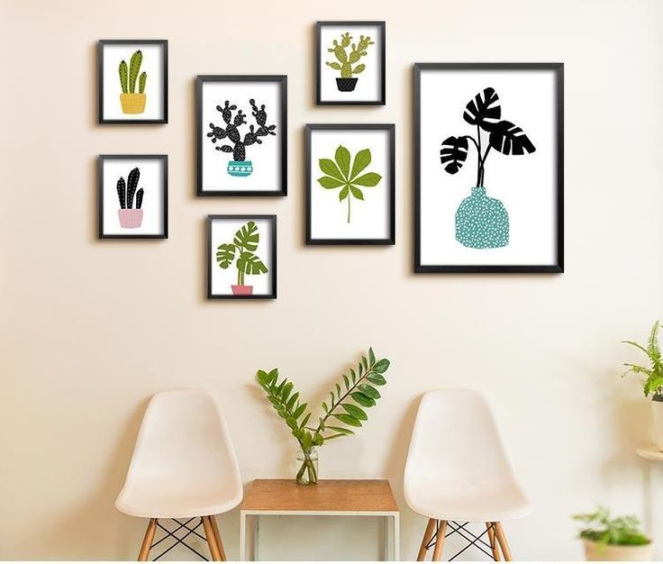 New Arrivals | 10% discount, use coupon code 082-030-550 to avail #cactus #CanvasArt #WallDecor #WallArt #WallCanvas