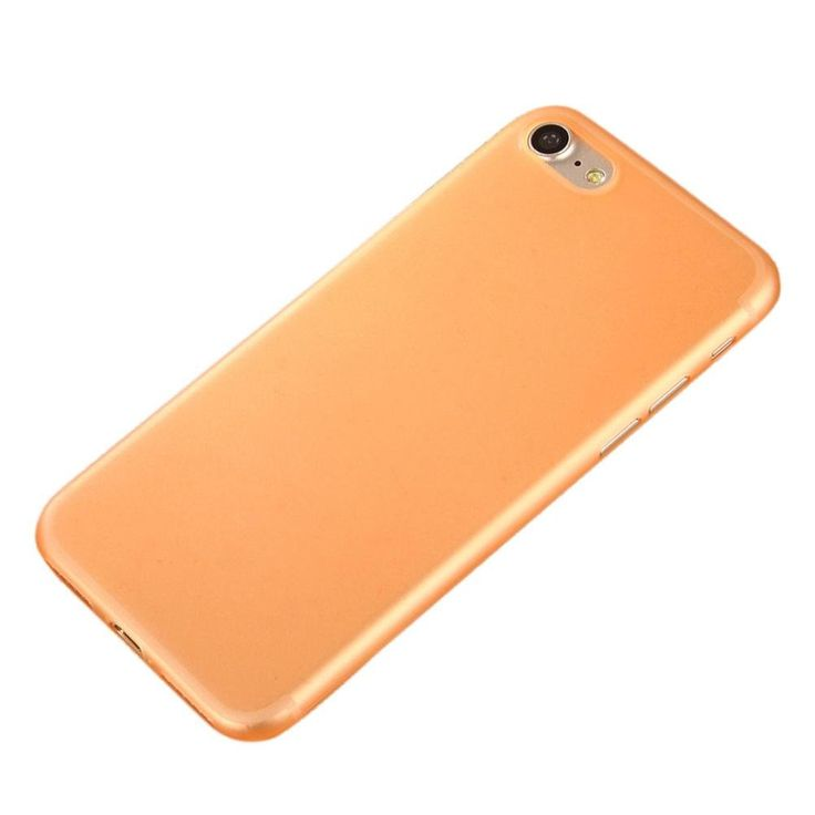 iPhone 7 case,ABCsell Slim Shock Absorption Colorful PC Bumper Case Cover (Orange) -- Awesome products selected by Anna Churchill
