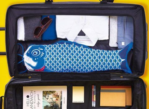 swissmiss   Koinobori Travel Laundry Bag