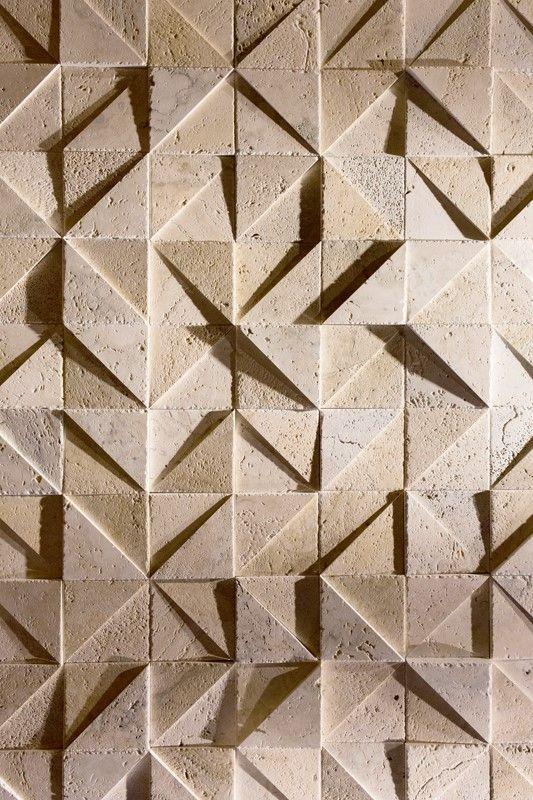 Mejores 291 im genes de azulejos 3d en pinterest textura - Mejor revestimiento para fachadas ...