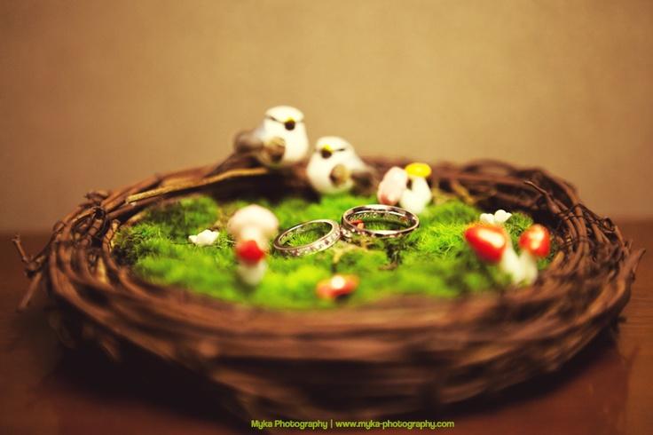 Bird nest Ring Bearer by JloveS: Ring Pillows, Bird Nests, Rings, Birds