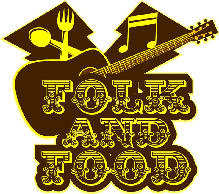 Pembuatan Logo Folk and Food sebuah event music dan Kuliner malam di bandung tepat nya di jalan Taman Pramuka 181 Bandung