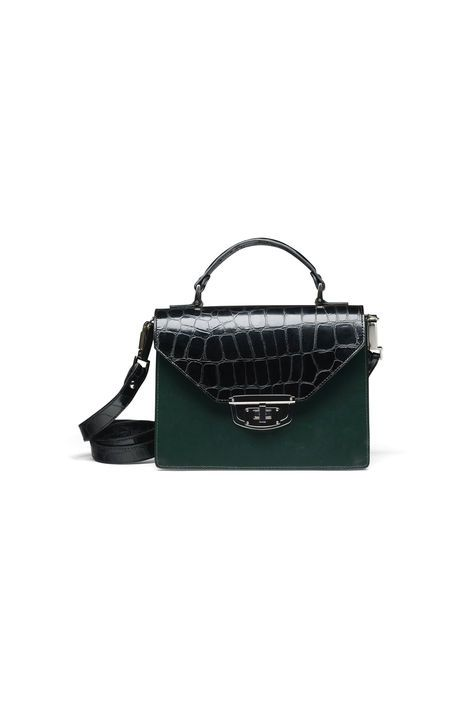 Gallery Accessories Bag, Croco Block Colour