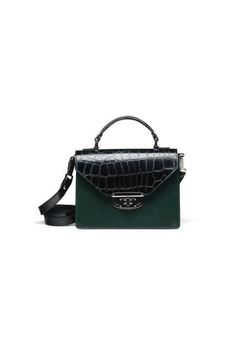 Gallery Accessories Bag, Croco Block Colour