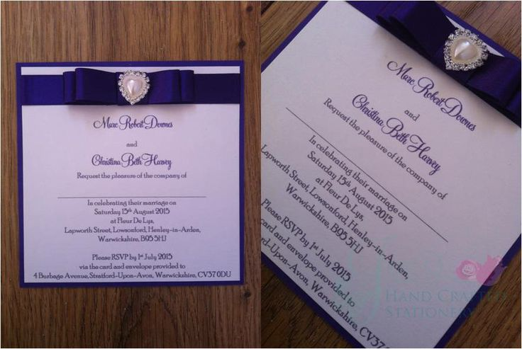 Cadbury Purple Wedding Invitations: 17 Best Images About Purple And Blue Wedding Colors On