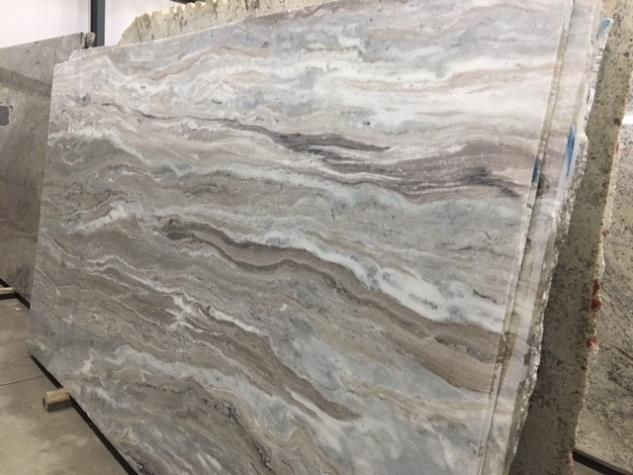A Beautiful Slab Of Fantasy Brown Quartzite With A Honed Finish