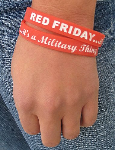 Red Friday  It's a Military Thing