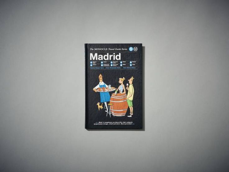 The Monocle Travel Guide, Madrid - Books & Music - Shop | Monocle