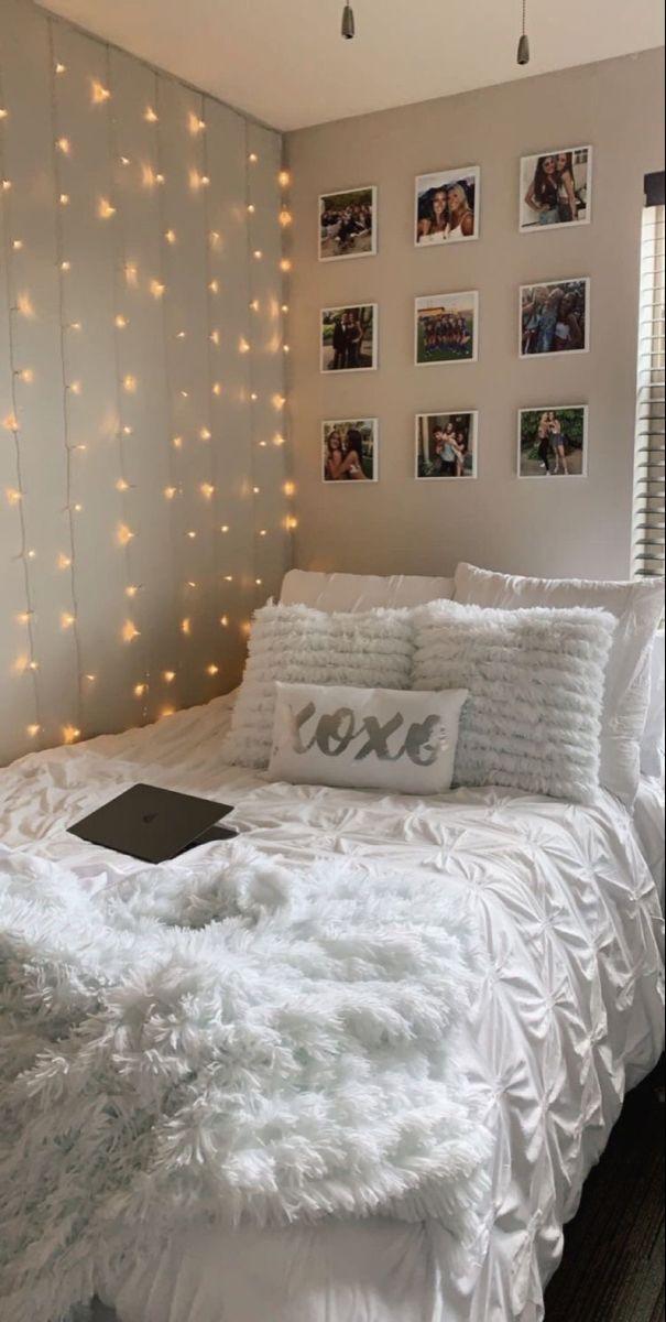 Curtain Led Lights Girl Bedroom Decor Room Inspiration Bedroom Tween Bedroom Decor
