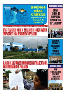 buenosdiascanete.blogspot.com: DIARIO DIGITAL BUENOS DIAS CAÑETE, EDICIÓN 20 NOVI...
