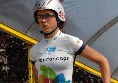 Audrey Cordon | ... Coupe de France dames. Audrey Cordon devant Aude Biannic à Plumelec