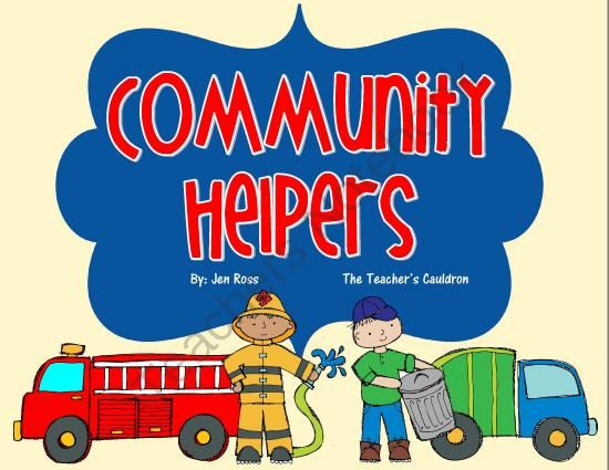 This pack is great for learning about community workers ...