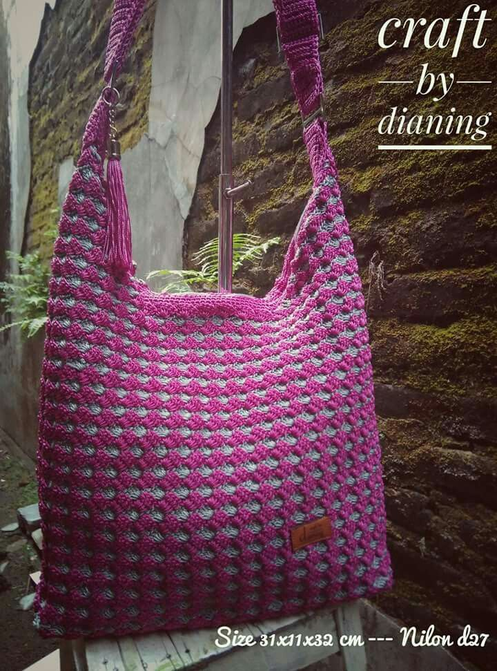 Crochet bags by dianing