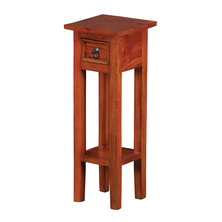 sterling industries sutter espresso end table brown