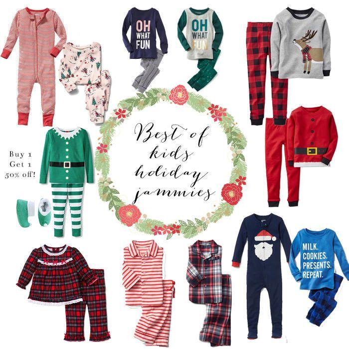 Kids Holiday Pajamas // Christmas Pajamas for Kids // Holiday Pajamas for Kids // Lynzy & Co.