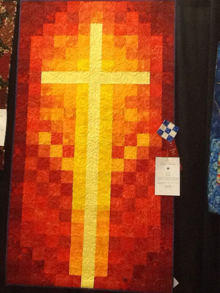 34 best Quilting, Crosses and Watercolor images on Pinterest ... : quilted church banners - Adamdwight.com