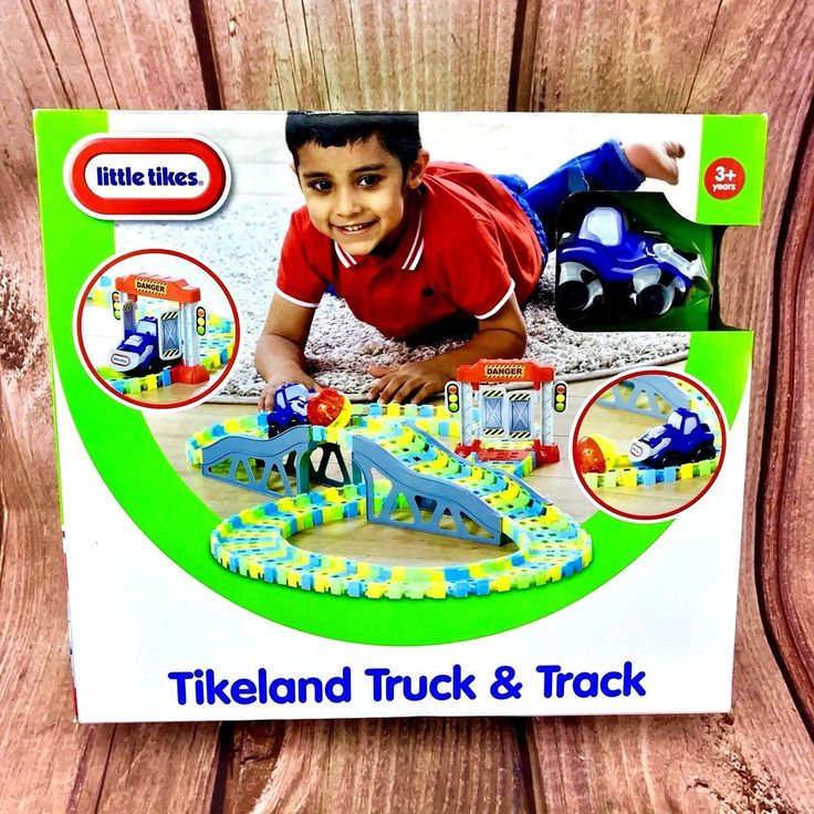 Little Tikes Tikeland Truck And Track Brand New ball bulldozer Kids Toys Baby's