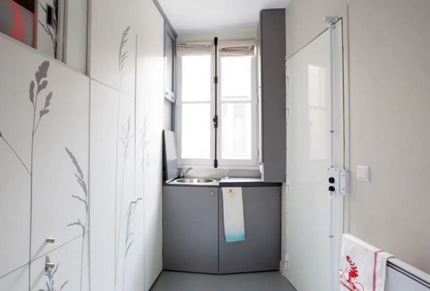 Something Unbelievable Happens When You Step Inside This 86 Square-Foot Apartment In Paris