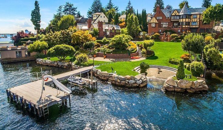 Seattle, WA Square Footage: 8,423 Bedrooms & Bathrooms: 5 bedrooms & 5 bathrooms Price: $14,880,000