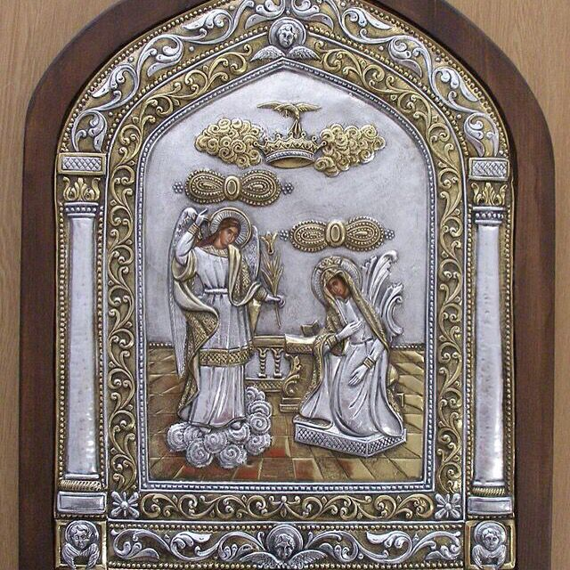 Holy Annunciation Icon Of Tinos @nioras.com in our Retail Store