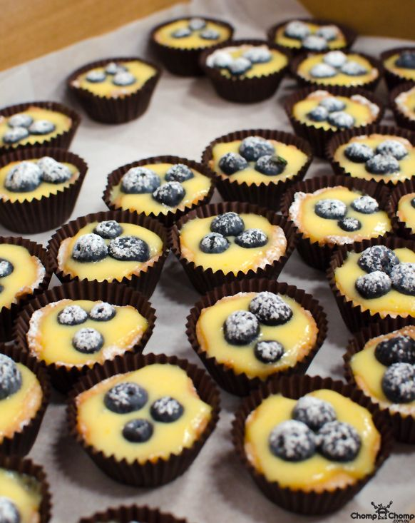 Blueberry cupcakes by Little Sweet Baking   Eat Drink Blog: AUstralian Food Bloggers Conference 2013   Perth food blog
