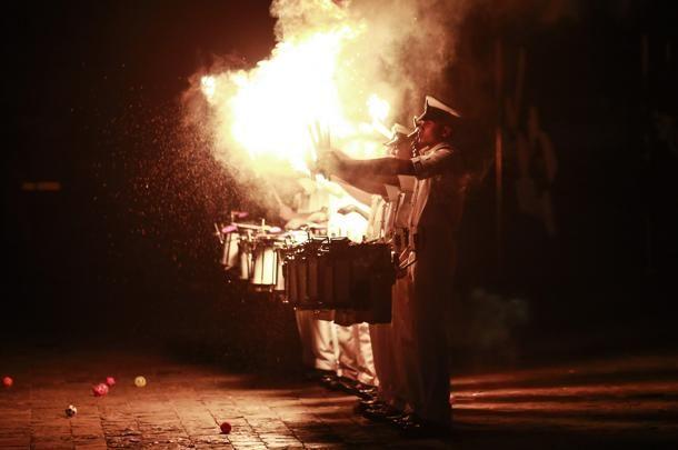 #India, la spettacolare festa della Marina