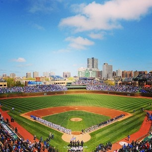 Chicago Cubs...yay! It's opening day!