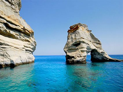 Milos island Greece Μήλος Κλέφτικο