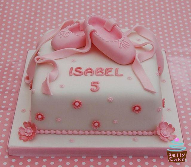 Ballet Shoes Cake by www.jellycake.co.uk, via Flickr