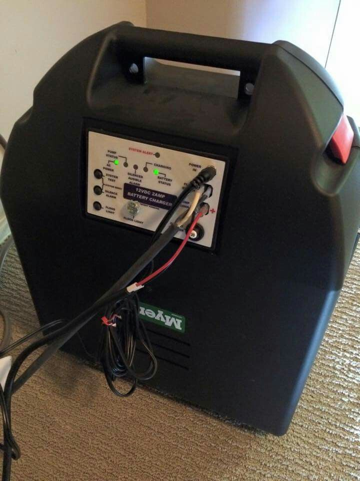 Battery backup sump pump system backup sump pump sump