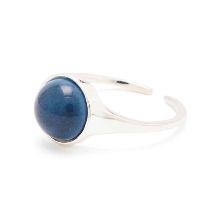 Louise Kragh ring Fall ring Twilight Blue