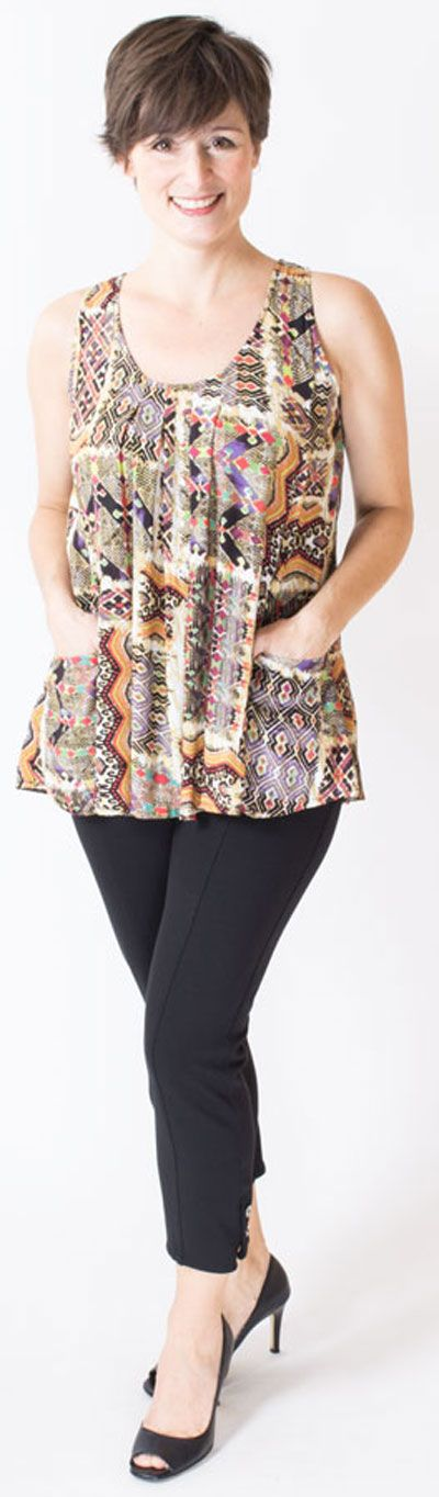 A top with POCKETS? Sign me up! XXS-4X - Fair Trade - Blue Sky Clothing Co
