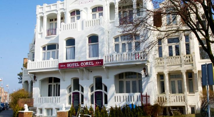 Hotel Corel Scheveningen This hotel is located in the centre of Scheveningen at a 5-minute walk from the beach, circus and casinos. Corel offers free Wi-Fi and a spacious terrace for warm weather.