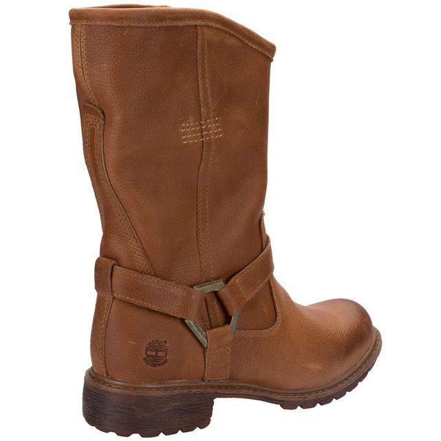 TIMBERLAND - Bottines Timberland Earthkeepers Stoddard pour dame en brun   La Redoute