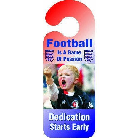 Football Is A Game Of Passion Door Hanger Sign ...