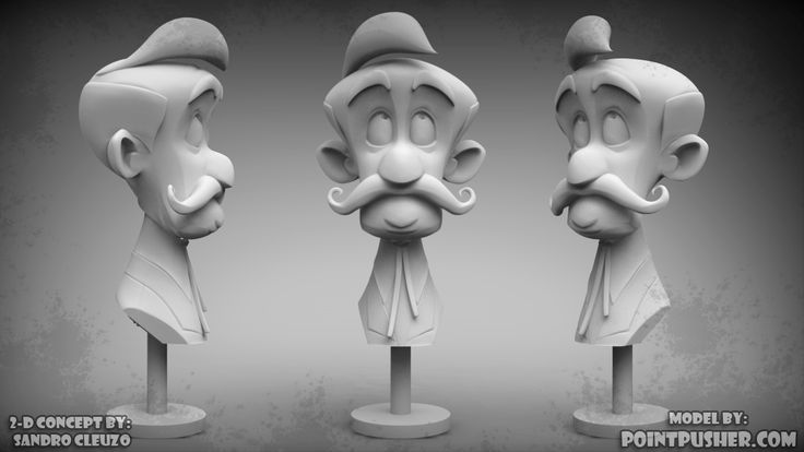 Design by Mr. Sandro Cluezo!  Sculpt by pointpusher
