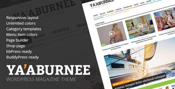Ya'aburnee - Magazine & E-Commerce Theme - http://fitwpthemes.com/yaaburnee-magazine-e-commerce-theme/