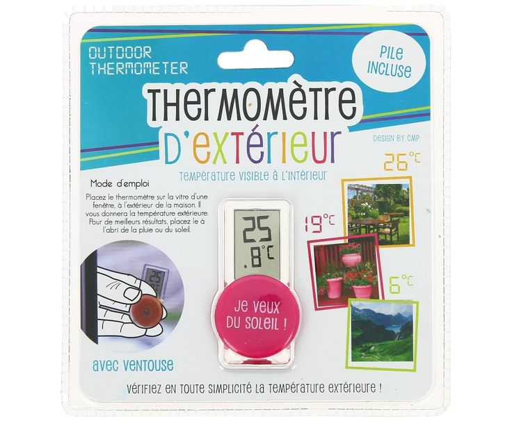 Thermometer packaging
