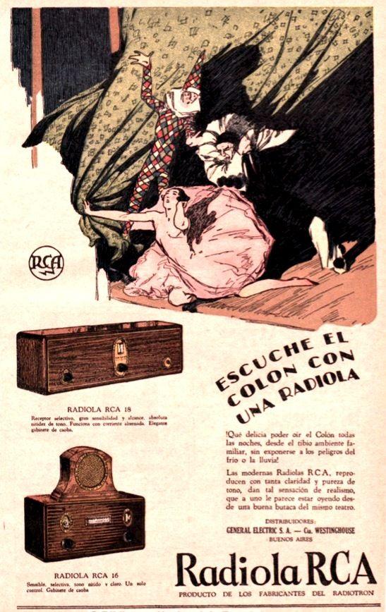 RADIOLA RCA, 1929.