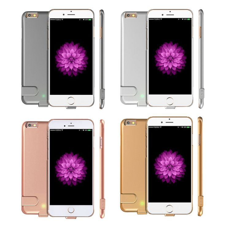 7 Case Battery Slim Ultra Thin Power Bank Charge Cover For iPhone 7 Plus Luxury Power Case for iPhone 6 6S/ 6 plus/ 6s plus