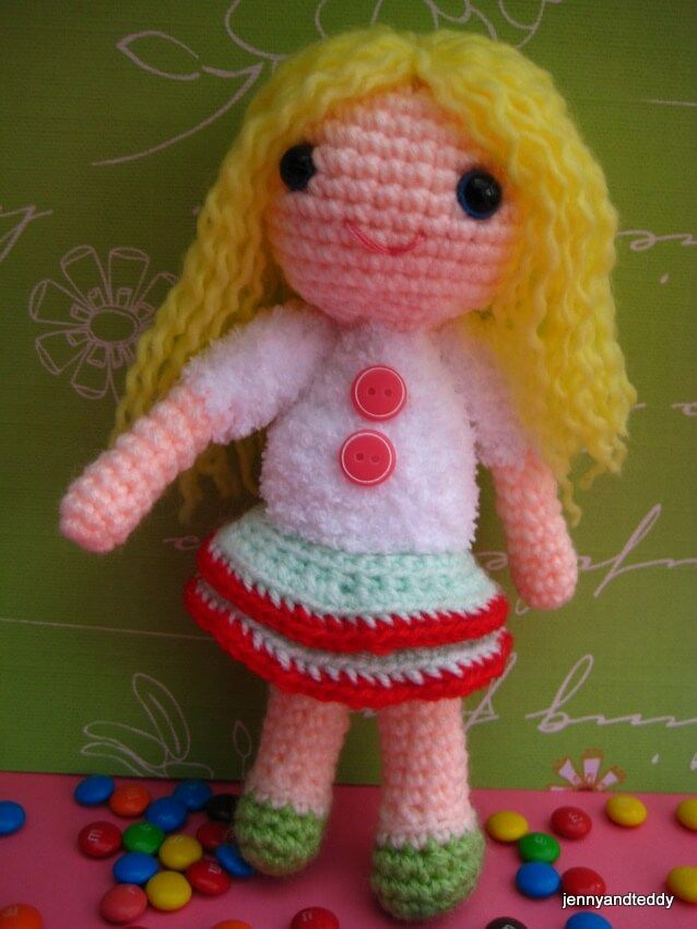 Amigurumi Doll Curly Hair : 483 best images about free crochet patterns on Pinterest ...