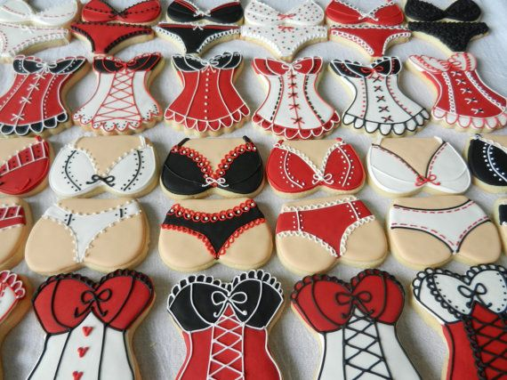 Lingerie Party Pack Cookies 36 total cookies for your by 3CSC, $43.99