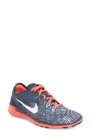 Nike 'Free 5.0 TR Fit 5 Print' Training Shoe (Women) available at #Nordstrom