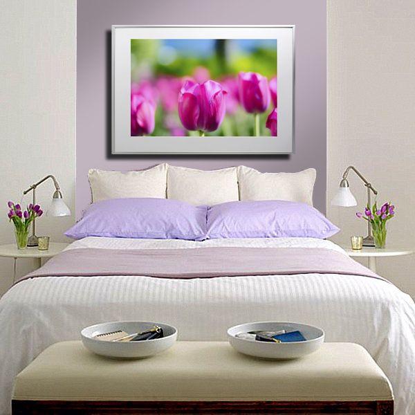 Nu Arte Photo Print - Pink Tulips